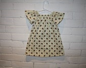 Girls Owl Dress Size 12 Months - Custom Sizes 12 months to 6 Years