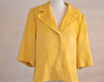Yellow CARLISLE Vintage 60's Jacket