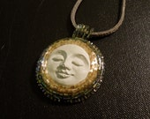 20% OFF Cement Face Necklace