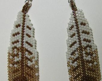 Falcon Feather Earrings