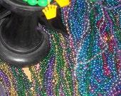 Mardi Gras Beads  from New Orleans-Medium Box