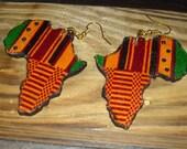 Kente Africa Earrings