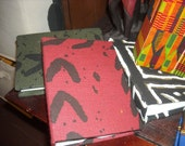 Small African  Print Photo Album- mudcloth print