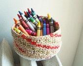 Crayon Basket