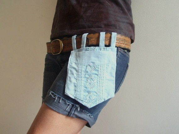 Guayabera Belt Pocket- Donating 20 % of all sales to Japan relief efforts