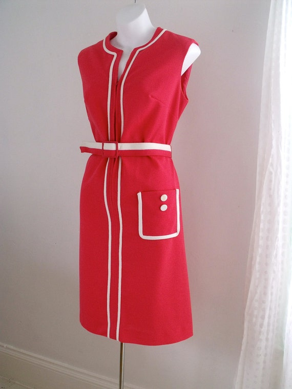 "Vintage ""Nancy G""  Mod Squad Spring Dress SIZE 9-12"