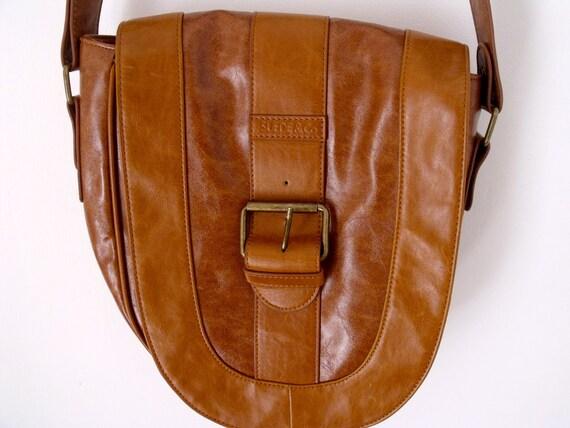 Vintage Rustic Leather BOHO Western Style Bag
