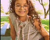 Ella by Bella Girls Size Small Crochet Shirt Pattern