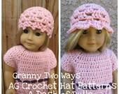 American Girl Crochet Hat Patterns