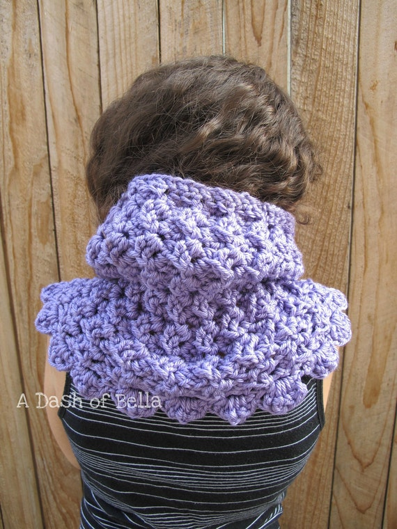 Crochet Cowl Pattern PDF