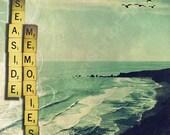 "Fine Art-""Seaside Memories"" 8x10 Metallic Photographic Print"