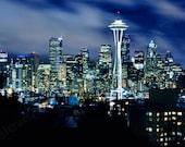 "Fine Art-""6 Seconds in Seattle"" 8x12 Metallic Photograph Print"