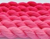 Pink Gradient Yarn Color Shift Petal Pink