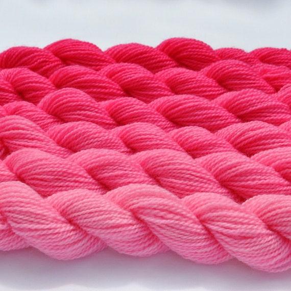 Petal Pink Gradated Yarn Set