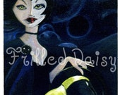ACEO Giclee print/ Not So Wicked Witch