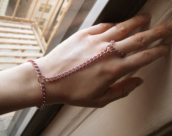 Pink Aluminum Slave Chain