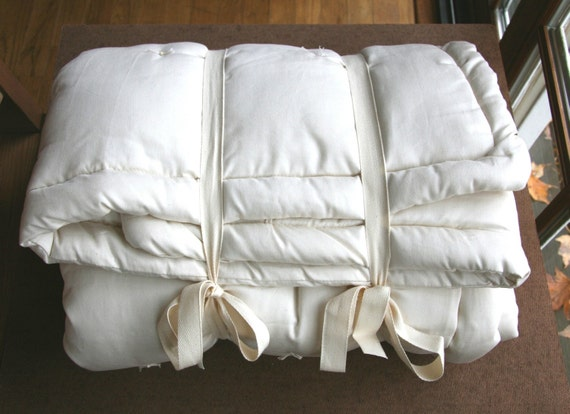 Organic Wool Comforter - Reserved for Kathrine