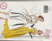 Retro Butterick '52 dress pattern