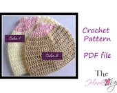 Instant download- The Breast Beanie Ever- CROCHET PATTERN- permission to sell finished product