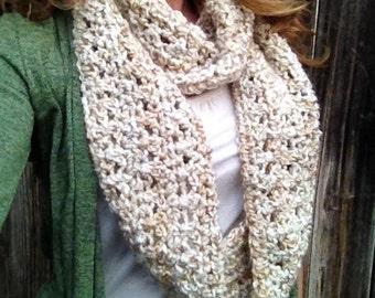 Infinity Scarf Cowl Neckwarmer knit crochet