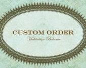 Custom Order-Reserved for sscanet