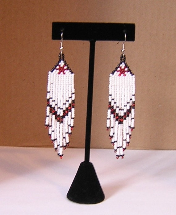 Southwestern style beaded earrings