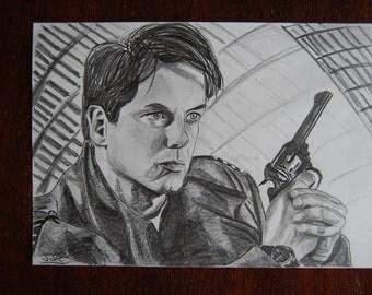 Captain Jack - Torchwood - Drawing