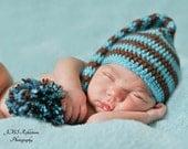 Newborn Prop Crochet Elf Hat