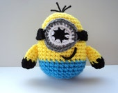 BLACK FRIDAY SALE Despicable Me Minion Inspired Plushie