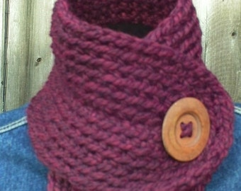 Crochet Pattern Cowl Collar Neck Warmer