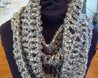 BEGINNER Crochet Pattern, Chunky Cowl, circle scarf, Chunky Cowl pattern, Easy Crochet Pattern