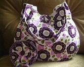 For Hayley, Blackberry Buckle, Pleated Handbag