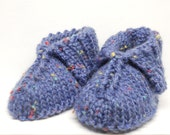 Cosy Baby Booties (0-3mths)