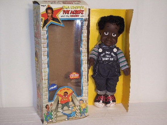 RARE Vintage Remco Bill Cosby Little Bill Doll New in Original Box 1980s