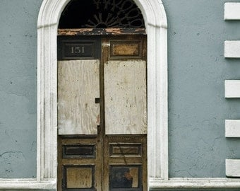 Wall art-Door -Blue - Gift - Old San Juan - Print - Poster -  Photograph - Photo