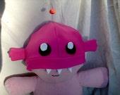 Hanklerfish (Anglerfish) Hat Pink