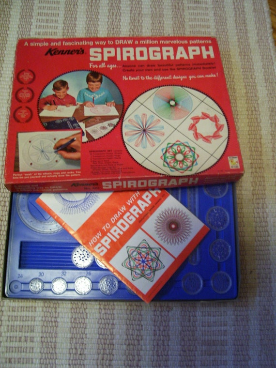 Vintage-Antique 1967 Kenner's Spirograph Toy in Box As Is