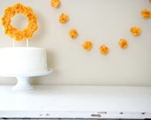 Oh Happy Day Cake Wreath