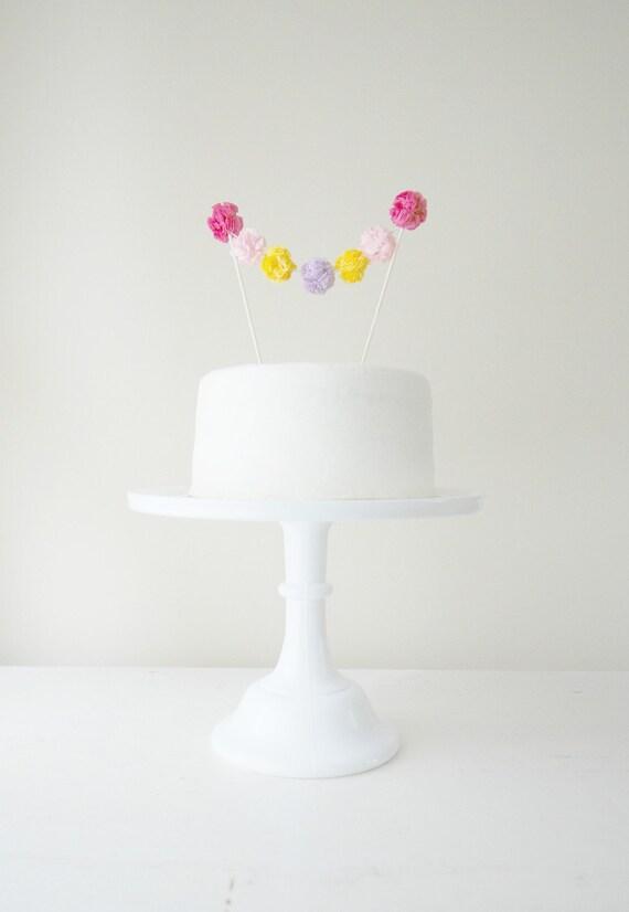 Cake Pom Garland