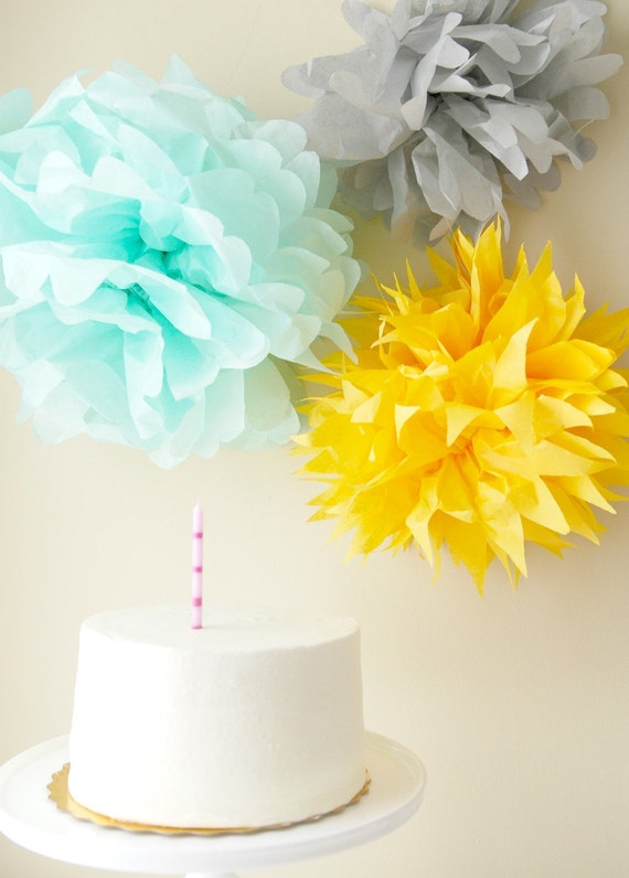 Pom Backdrop Collection, Custom Color Arrangement
