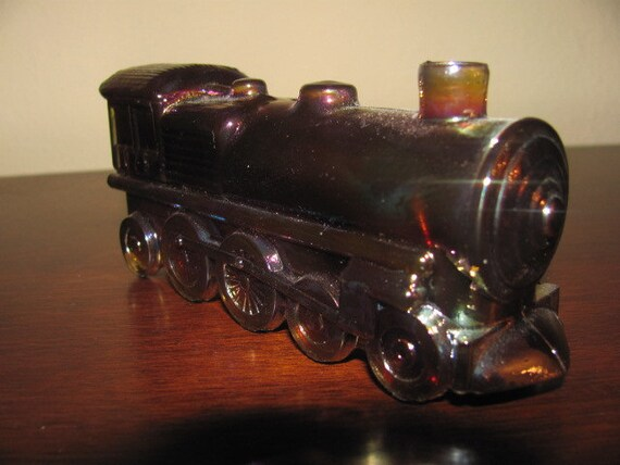 Carnival Train Engine Candy Dish