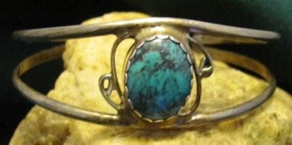Native American Vintage Navajo Turquoise Bracelet