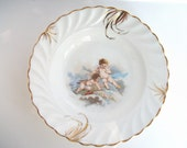 Vintage Valentine Berry Bowl with Cupids