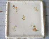 Vintage Porcelain Tea Trivet Victorian Cottage Chic