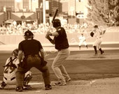 "Photography Print... 5x7 Baseball Game At Bat ""The Pitch"" - JoyfulCreationsArt"