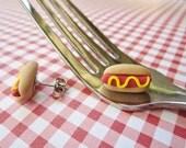 Fun Food Earrings... Hot Dogs