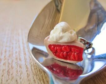 Fun Food Earrings... Cherry Pie A La Mode