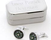 Dashing Cuff Links with Personalized Case