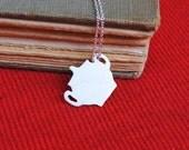 25% off Sterling Jar Pot Necklace
