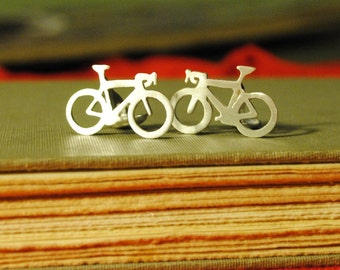 IN STOCK! Bicycle Cuff Links